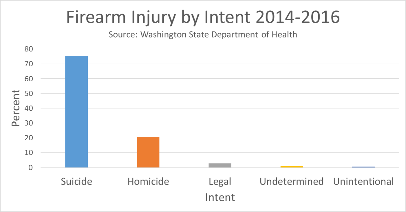 Firearm injury by intent 2